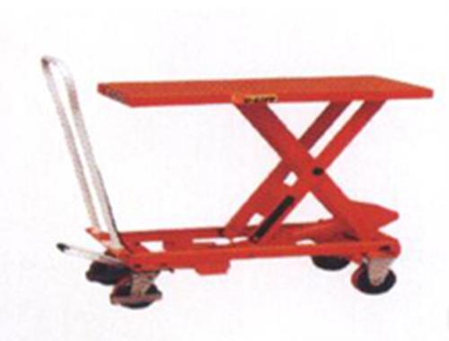 单剪重型脚踏式升降平台车