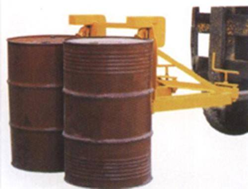 双桶型叉车专用油桶专用夹